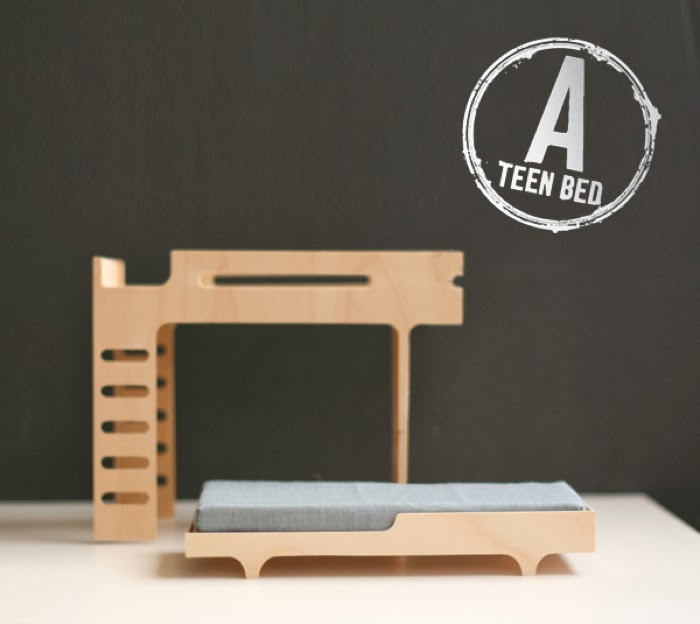teener bed from Rafa-kids