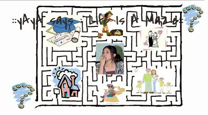 ::yAyA says : Life Is A Maze ::