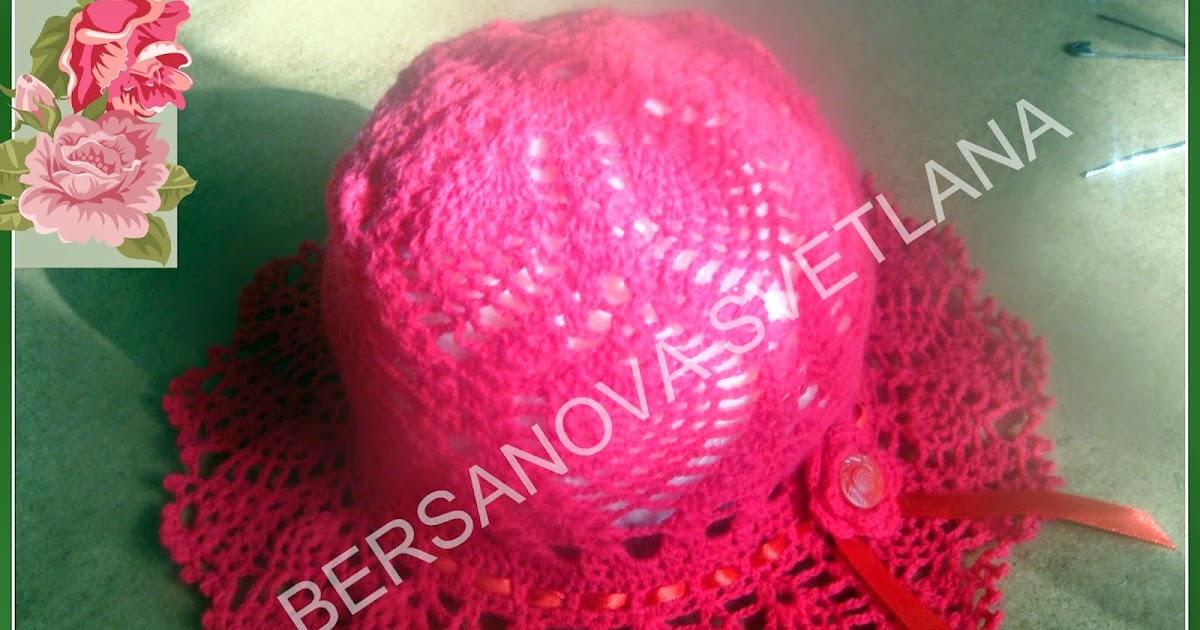 Урок вязания шляпки 181