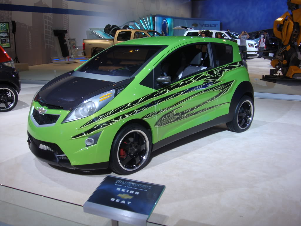 Hot Cars Modified Chevrolet Beat Transformers 2