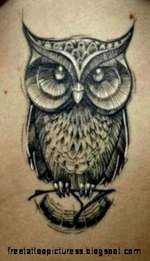Owl Tattoos on Pinterest  Owl Tattoo Design Pattern Tattoos and