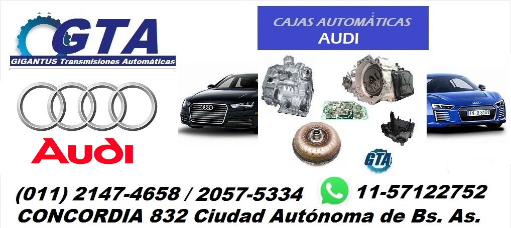 Cajas Automáticas Audi