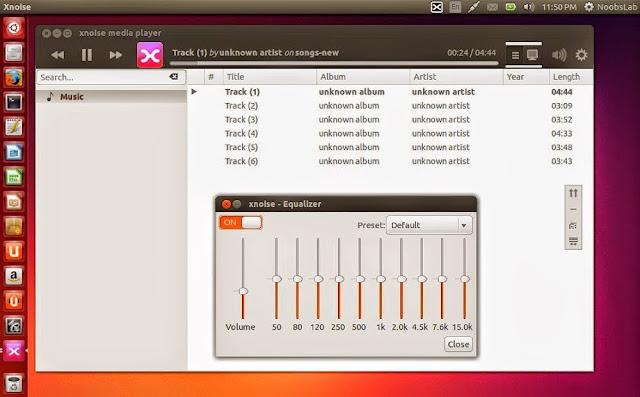 XNoise para Ubuntu