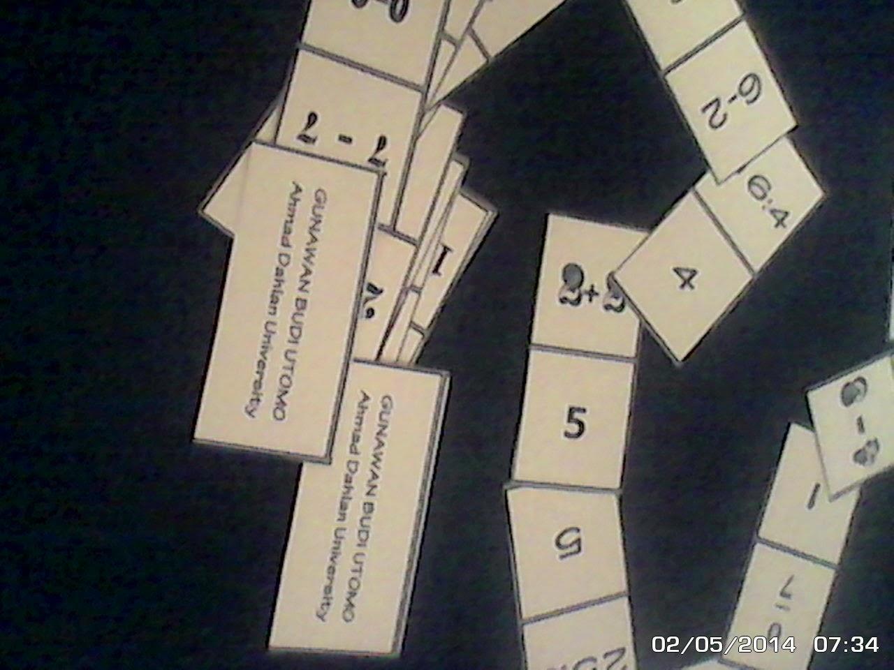 Domat Domino Matematika Yang Wajib Diketahui