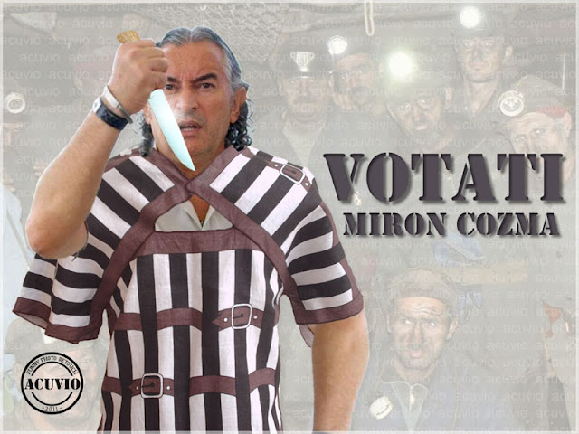 Funny photo Miron Cozma