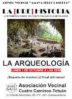 Ciclo de Prehistoria: la Arqueología