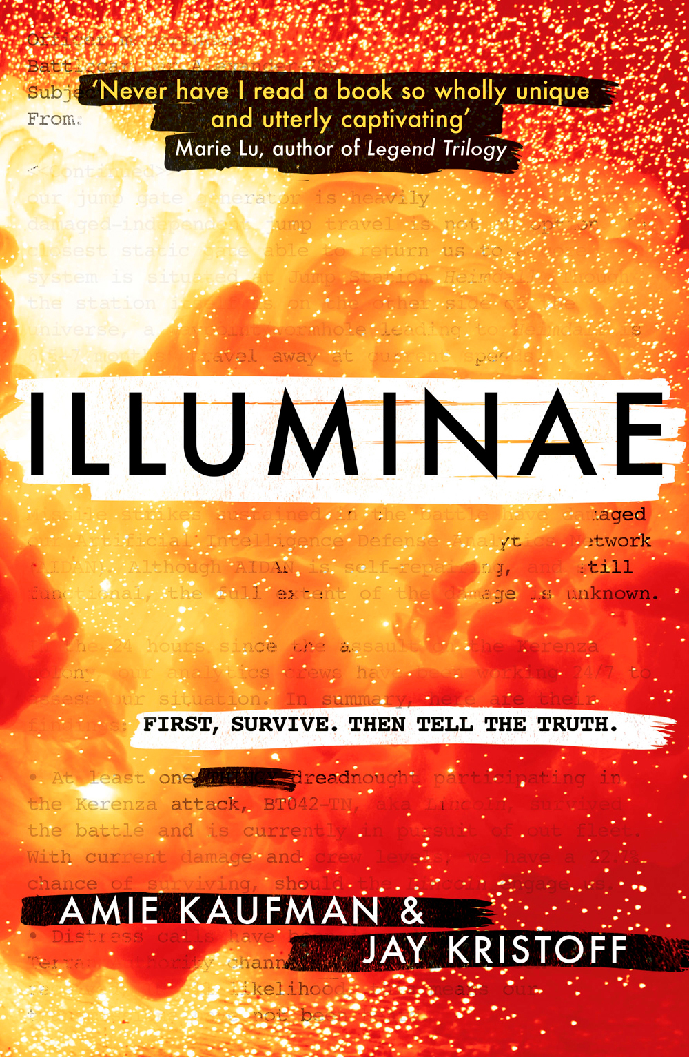 Illuminae (Amie Kaufman & Jay Kristoff)