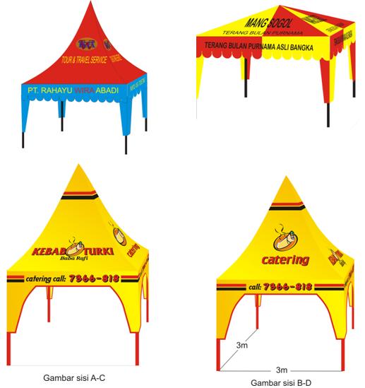 Tenda Super Lengkap