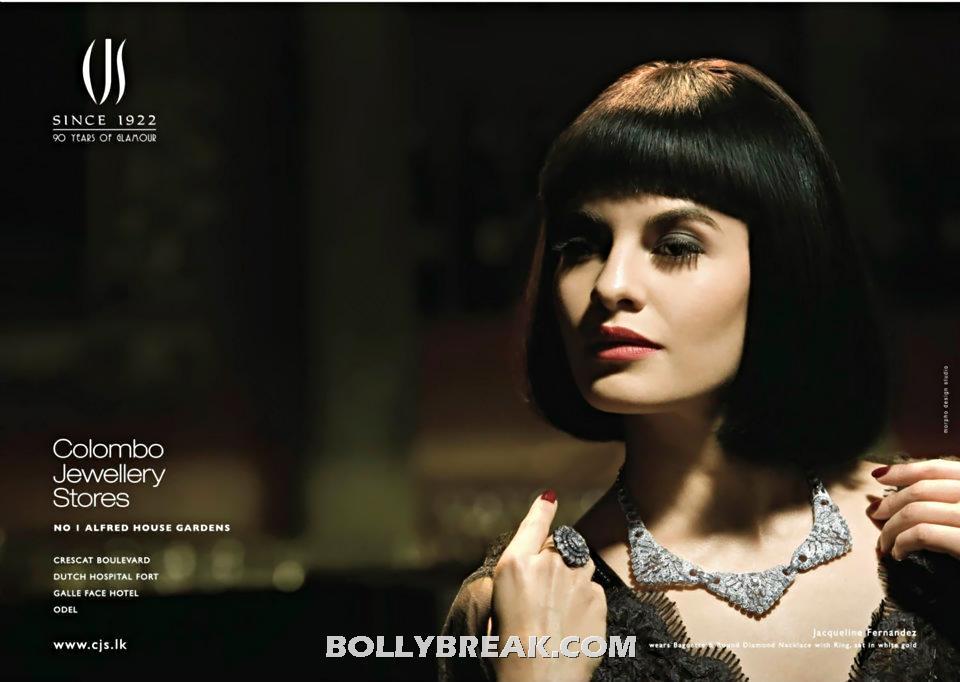 , Jacqueline Fernandez Colombo Jewellery Store Short Hair Photoshoot