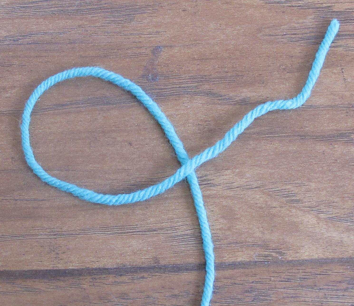 Crochet Slip Knot Tutorial : ReCrochetions: Tutorial: Slip Knot (Left-Handed)