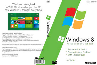 Free Download Activator Windows 8 Final 16 ( ISO + Permanent Activator ) - Screen SHOT