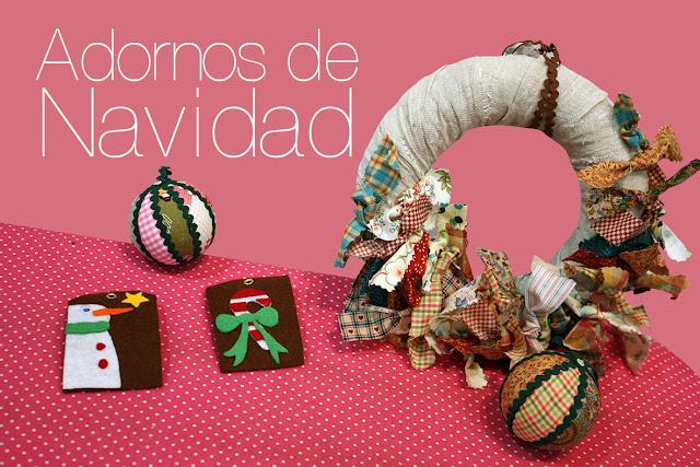 Taller monográfico diic 2012 : ADORNOS DE NAVIDAD