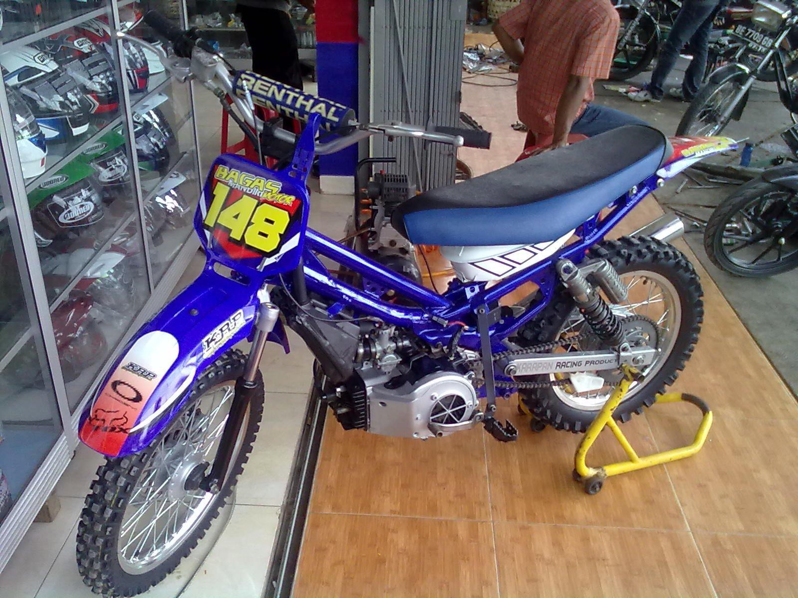 Foto Modifikasi Motor Bebek Yamaha
