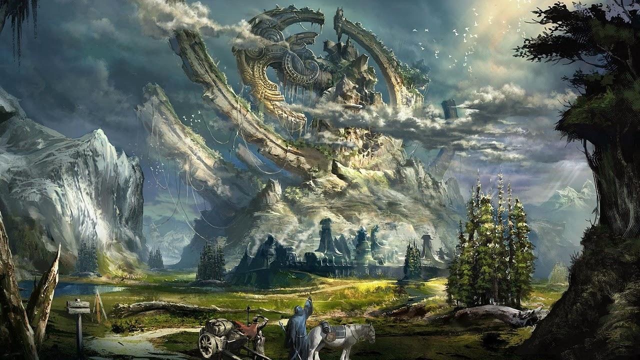 Seduced by the New...: Fantasy Art Desktop Wallpaper