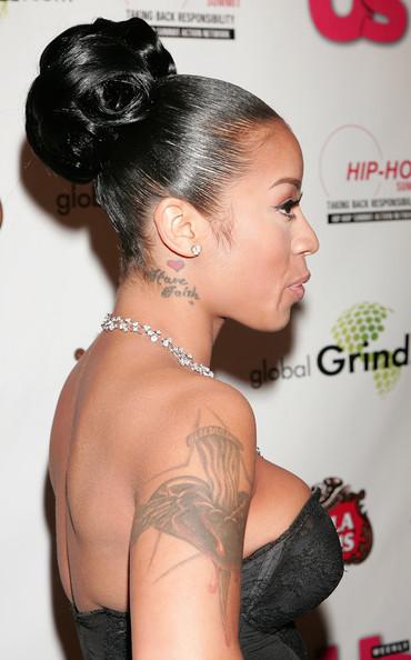 Keyshia Cole Tattoos L...