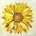 Lukisan Bunga Matahari MB-030