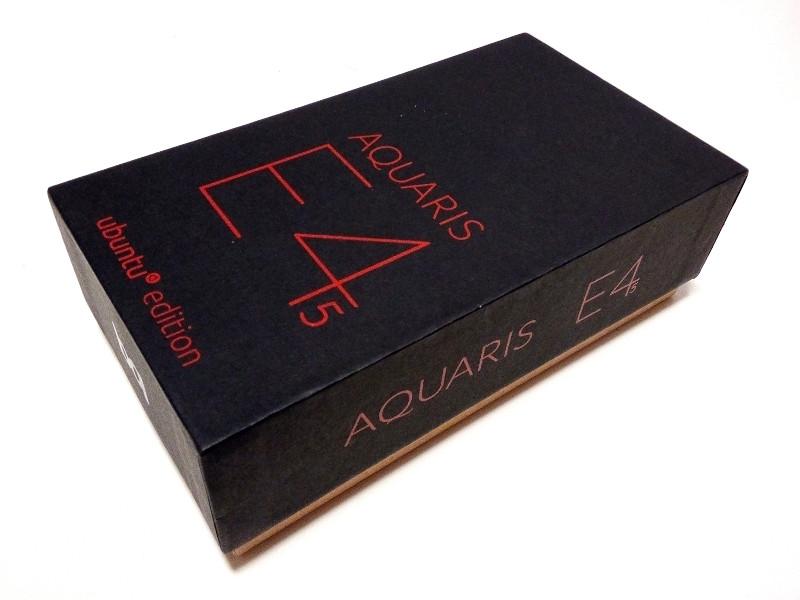 bq Aquaris E4.5 Ubuntu Edition Unboxing
