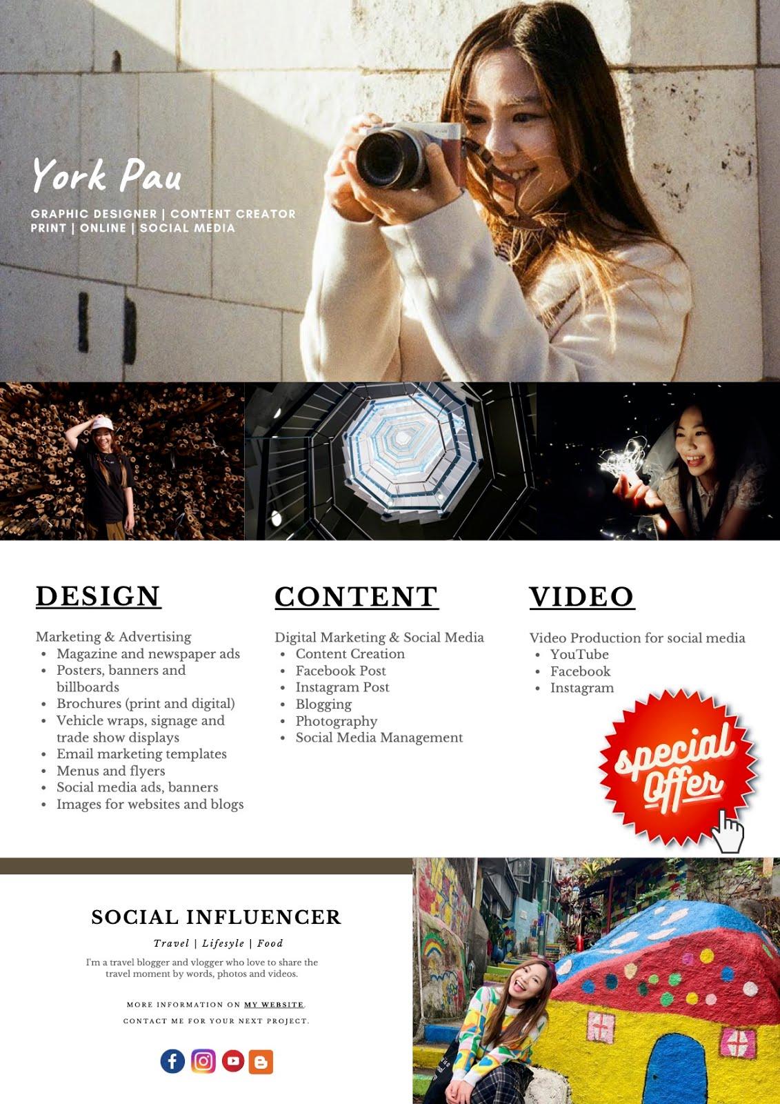 設計。內容創作。影片製作