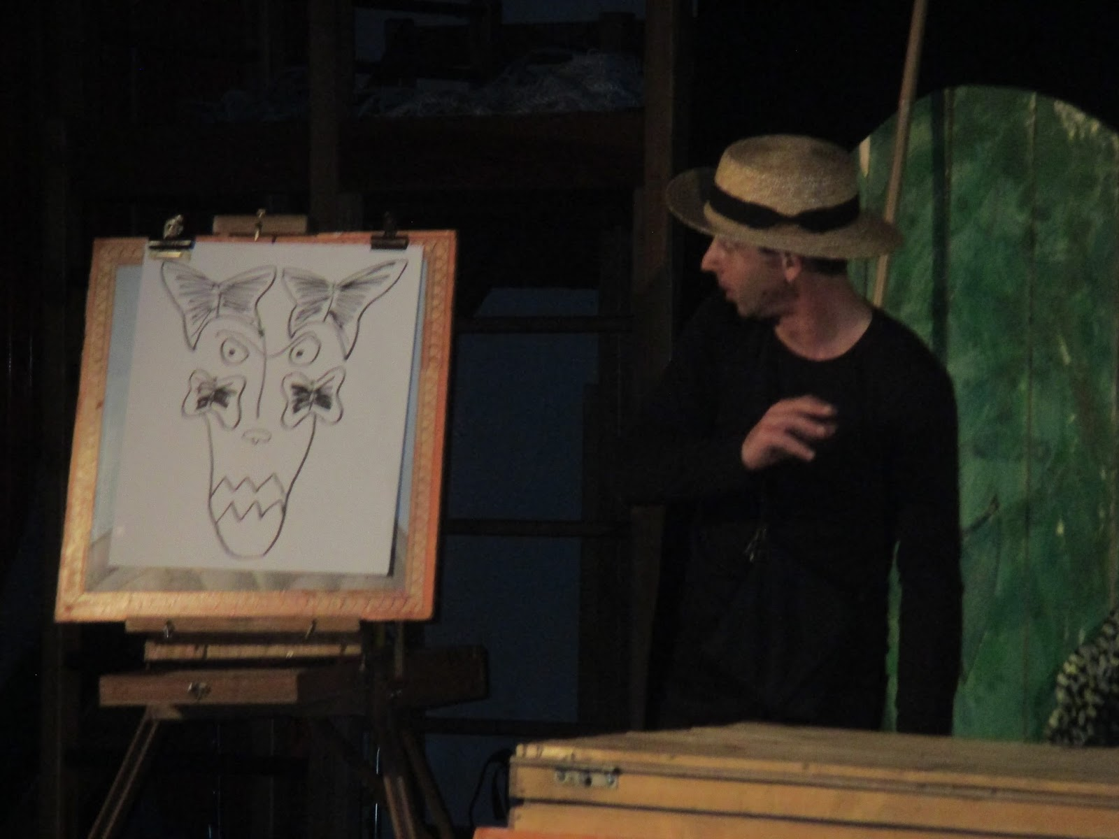 Ecole edouard manceau de rai: spectacle mademoiselle vermillon
