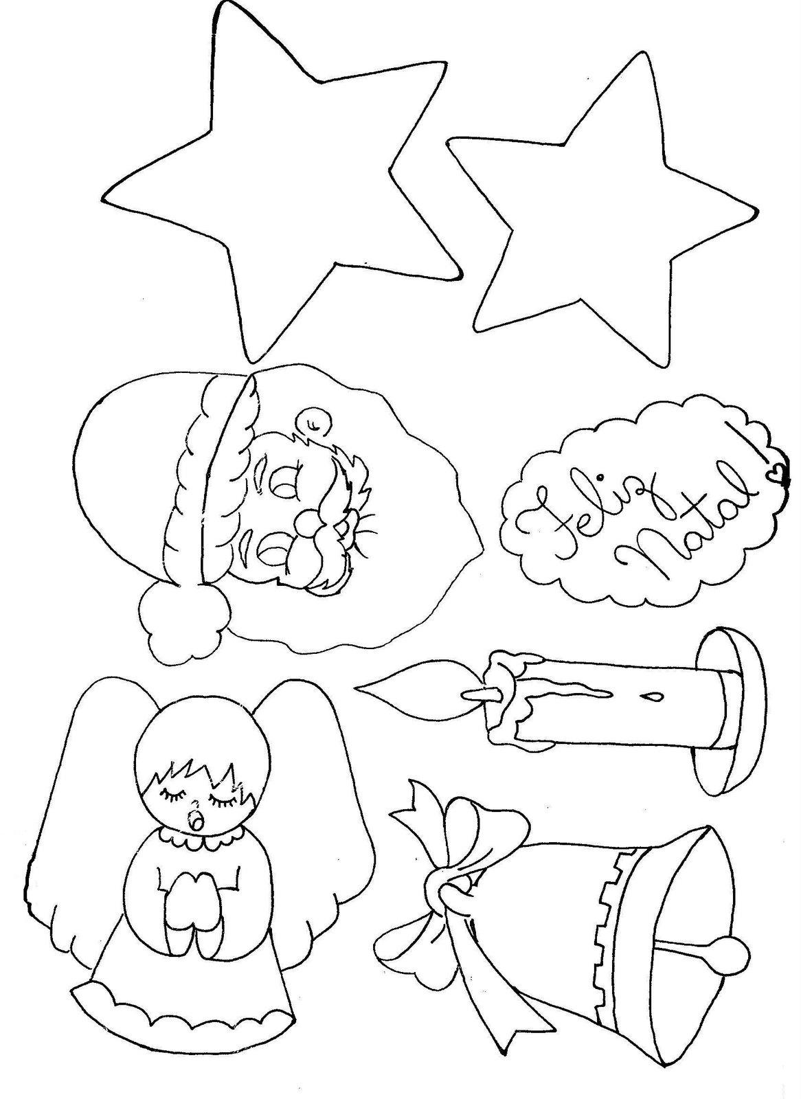 Natal s mbolos murais cartazes atividades e desenhos iv for Mural sobre o natal