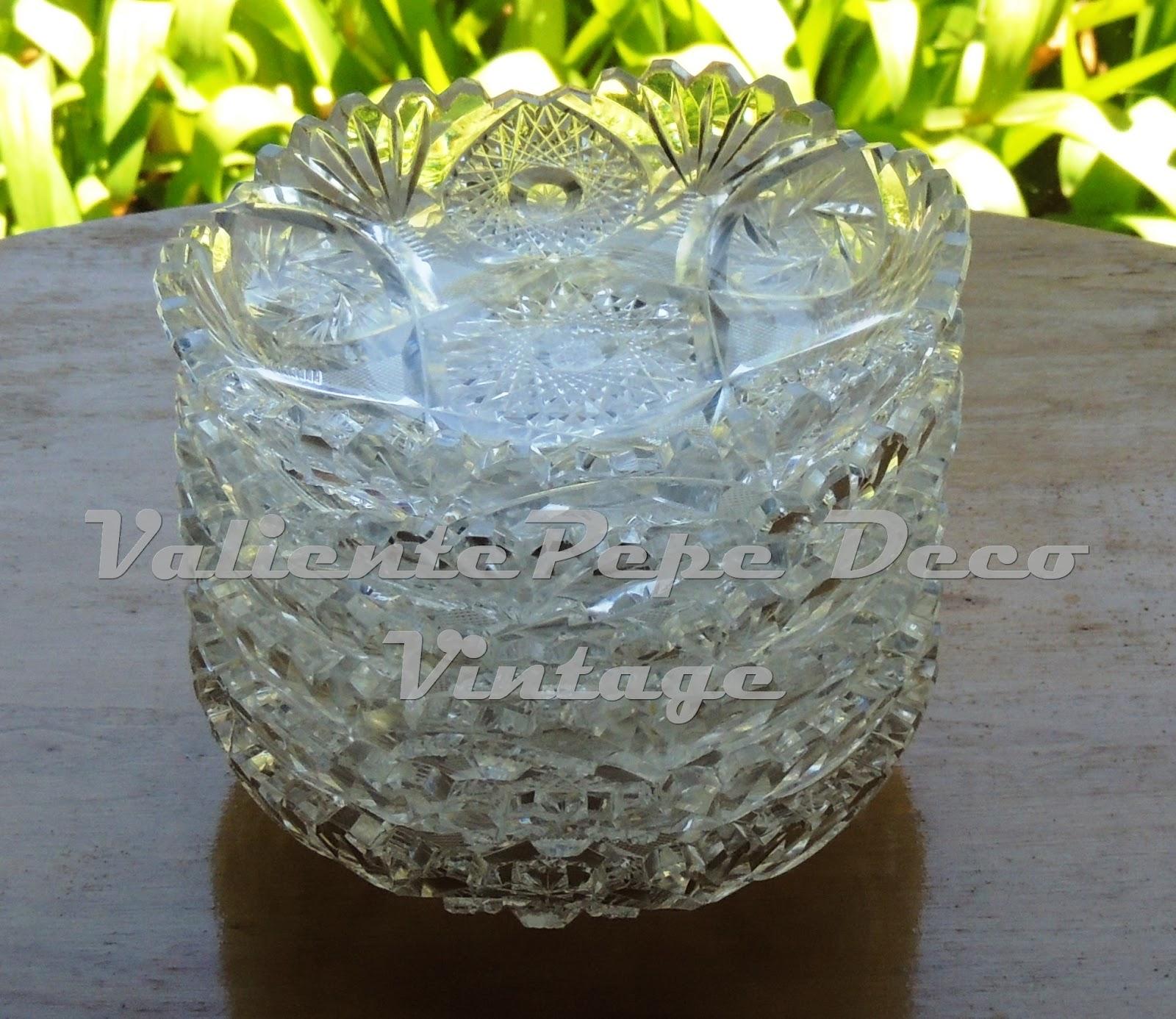 Juego de cristal y vajilla ironstone de j g meakin - Vajillas de cristal ...