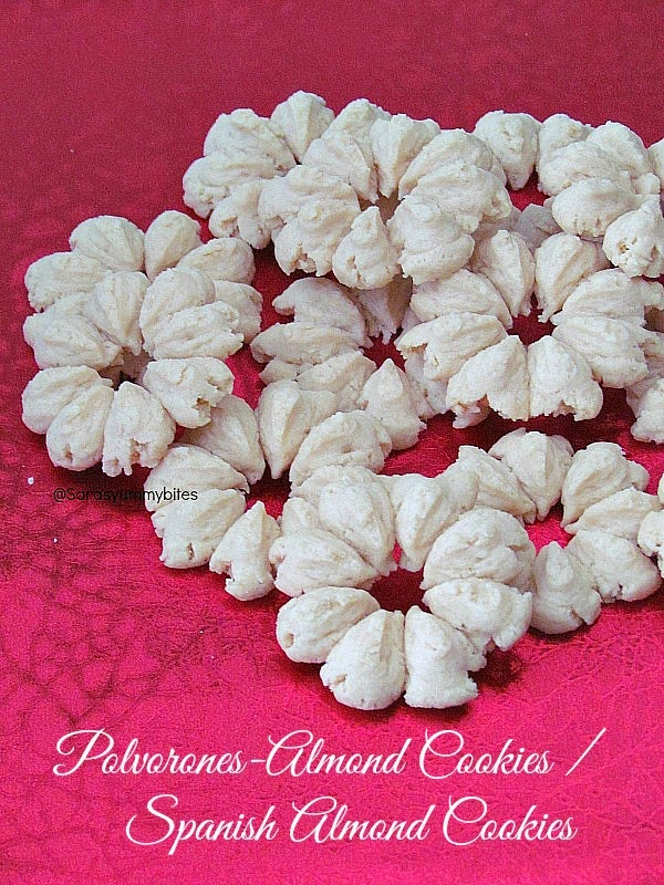 polvorones-almond cookies / spanish almond cookies