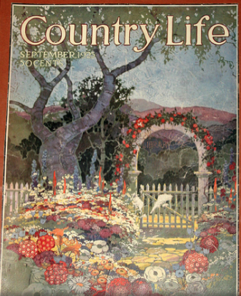 September 1925 Country Life magazine cover