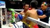 วิดีโอคลิปมวยไทย โกโก้ แป๊ะมีนบุรี พบกับ เพชรรุ่ง ศิษย์ซ้อน้อง (ศึกมวยไทย 7 สี วันอาทิตย์ที่ 19 ตุลาคม 2557)(คู่ที่สอง)