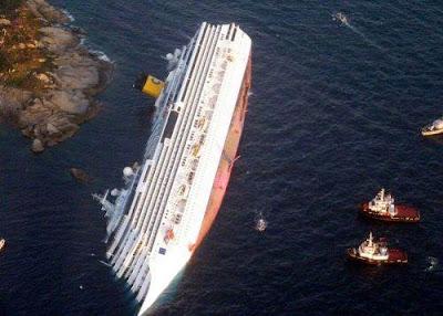 naufrágio do liner Costa Concordia