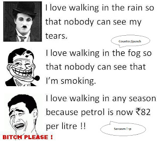 Troll Lol pic : Petrol price Hike and it's effects !