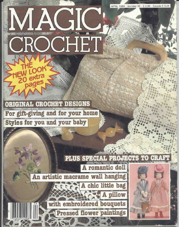 Magic Crochet : Magic Crochet No. 35 ~ Free Crochet Patterns