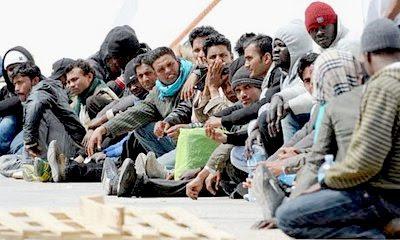 Lampedusa refugees #11
