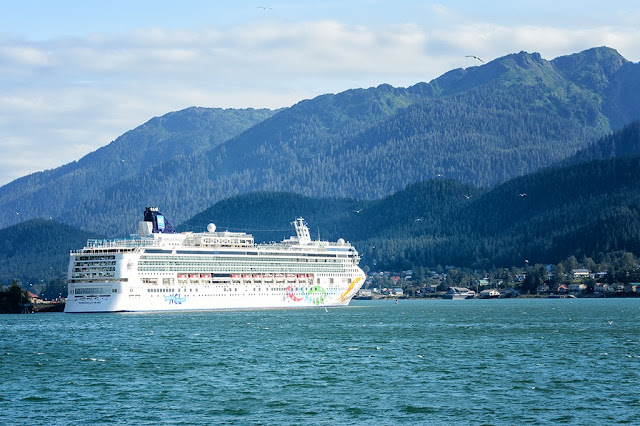 The Norwegian Pearl in Juneau, Alaska