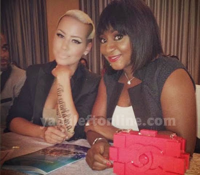 ini edo spotted with amber rose