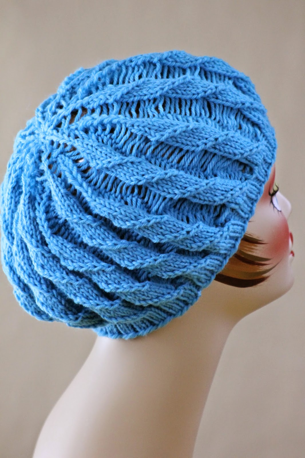 Balls to the Walls Knits: Twilled Stripe Hat
