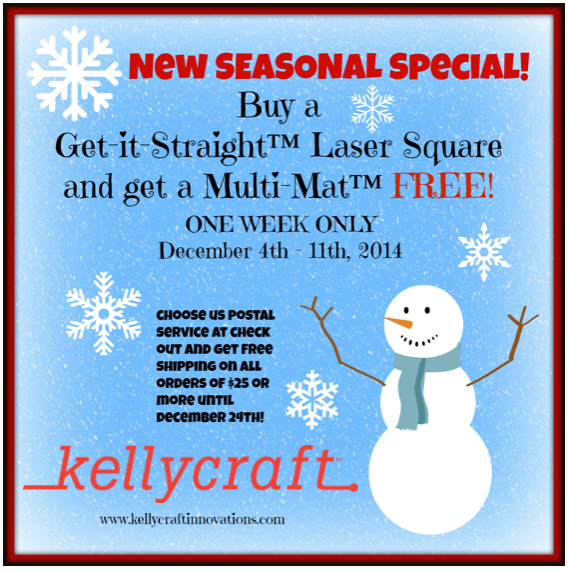 http://shop.kellycraftinnovations.com/BUY-A-LASER-SQUARE-GET-A-FREE-MULTI-MAT-LS12FREEMM12.htm