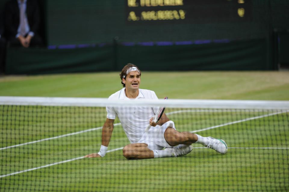 Search Great Tennis Wallpapers: Roger Federer 2012