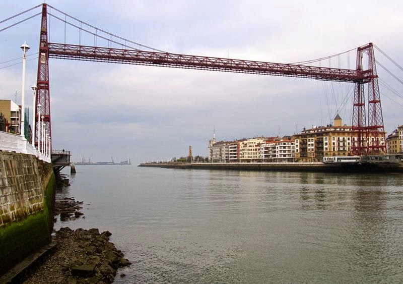 The Vizcaya Bridge, Bizkaiko Zubia in Basque, Puente de Vizcaya in Spanish, was constructed over 100 years ago to connect the neighborhoods Portugalete and Las Arenas the part of Getxo, across the linking the two banks of the River Nervion in Vizcaya, Spain.