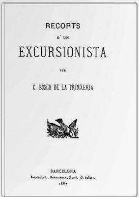 Libro Recorts d'un excursionista de Carles Bosh de la Trinxeria