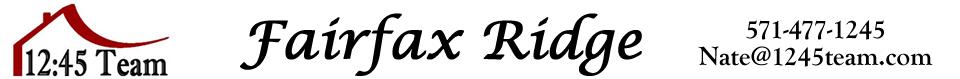 Fairfax Ridge Condos