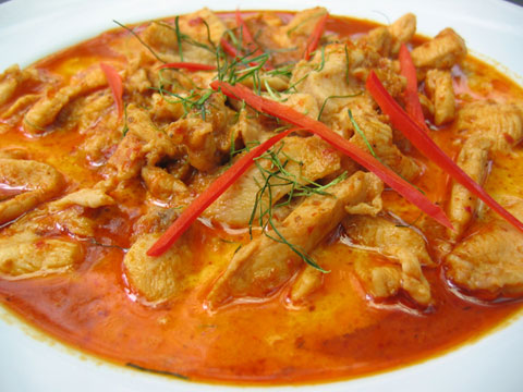 Things I Like: Panang curry