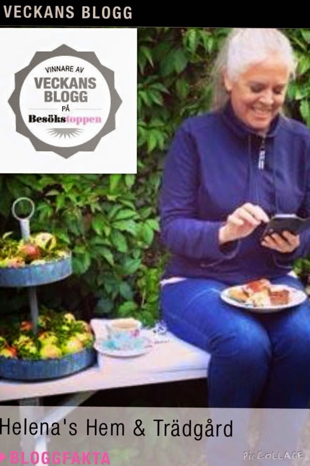 Jag har varit veckans blogg!