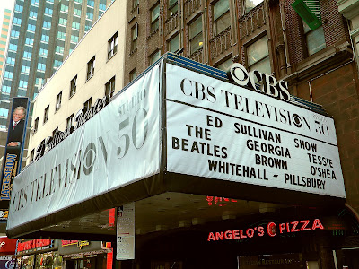 The Beatles The Ed Sullivan Theater Marquee