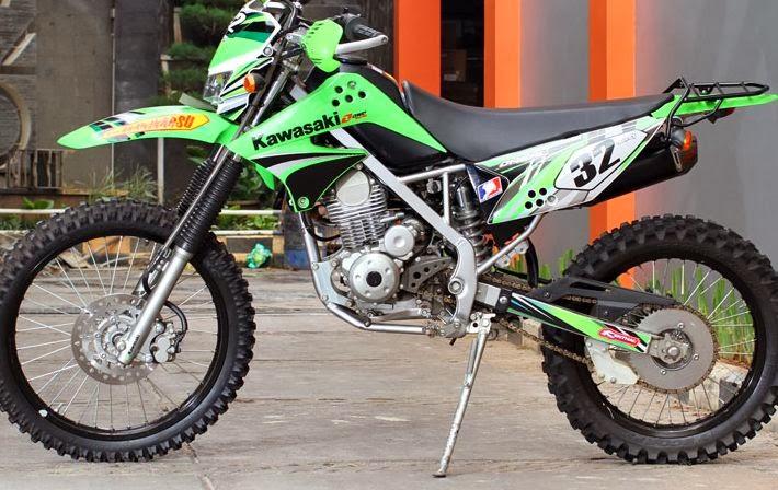 Melirik Enam Tampilan Garang Modifikasi Motor KLX