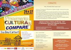 3º Movimento Cultural da Cidadania Florestana jul/2013