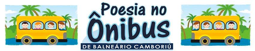 Poesia no ônibus de Balneário Camboriú