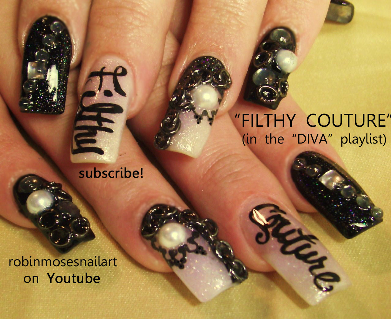 Nicki Minaj Roman In Moscow Nails Chain Filthy Couture Diva Swag How To Use Jumprings Stupid Hoe
