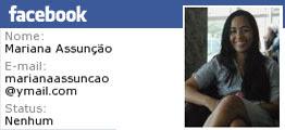 Adicione Mariana no Facebook