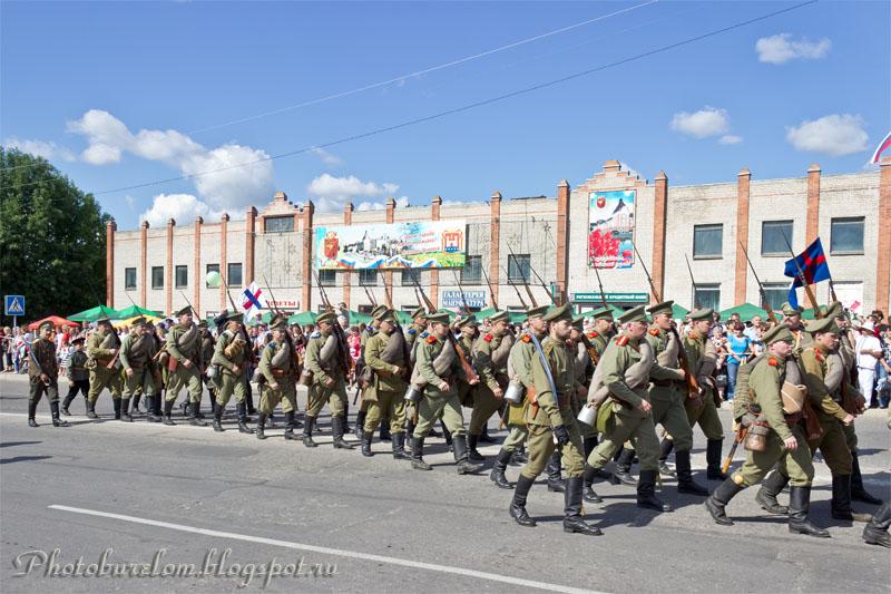 Воины Российской императорской армии