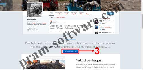 Mengubah/Merubah/Mengganti/Mengaktifkan/Mendapatkan Tampilan/desain Baru Twitter 2014